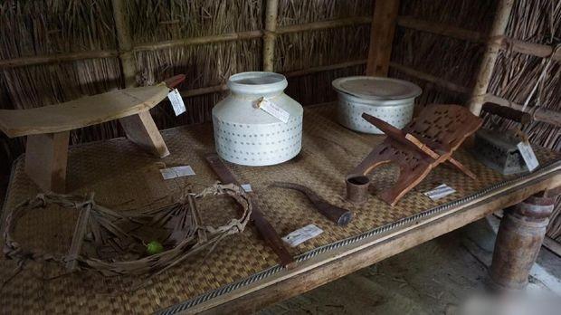 Perabotan dari rumah tangga penduduk Maldives
