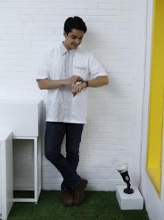 10 Model Baju Koko Terbaru Warna Putih Lengan Pendek Dan Panjang