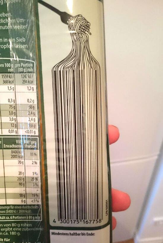 Desai barcode unik dan kreatif