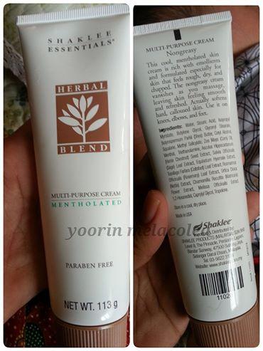 herbal blend shaklee , ubat ruam, eczema