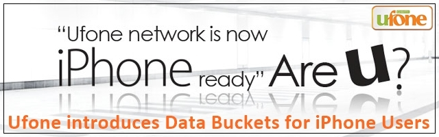 Ufone iPhone ready Network
