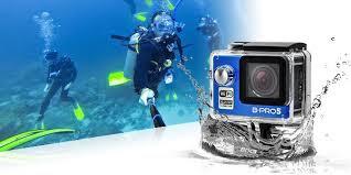 brica b pro 5 di bawah air