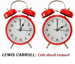 2 ceasuri, Lewis Carroll
