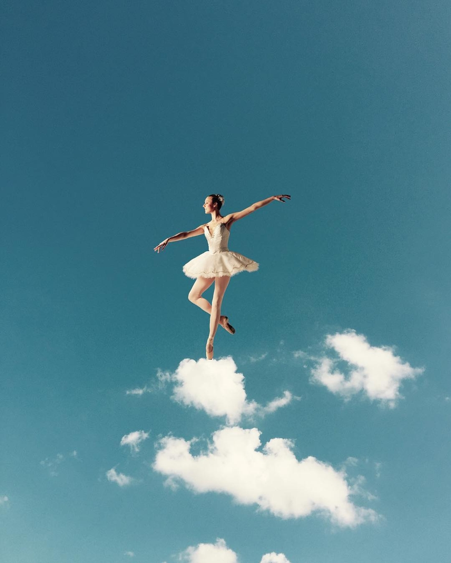 01-The-Ballet-Marcus-Einspannier-Surreal-Digital-Photo-Manipulation-using-Clouds-www-designstack-co