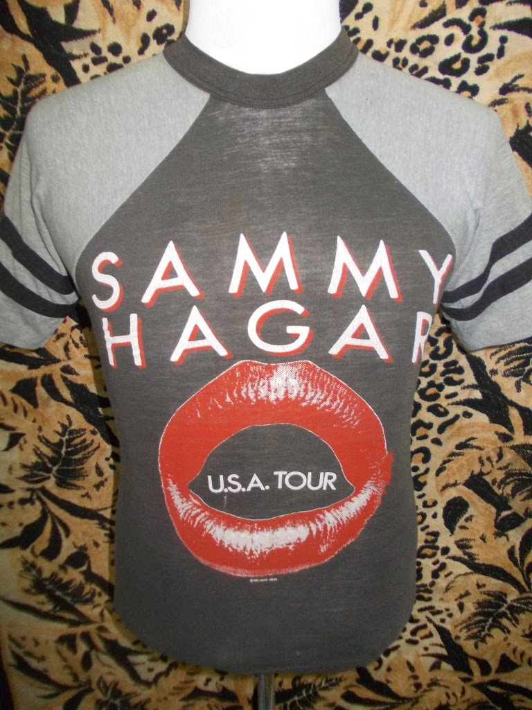 VTG SAMY HAGAR SHIRT 1