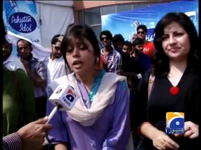 Pakistan Idol in Lahore 28 Sep 2013- Pakistan Idol Auditions