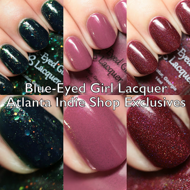 Blue-Eyed Girl Lacquer Atlanta Indie Shop Exclusives