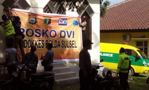Polda Sulsel, Bangun Pos DVI Di RS. KH. Hayyung Selayar
