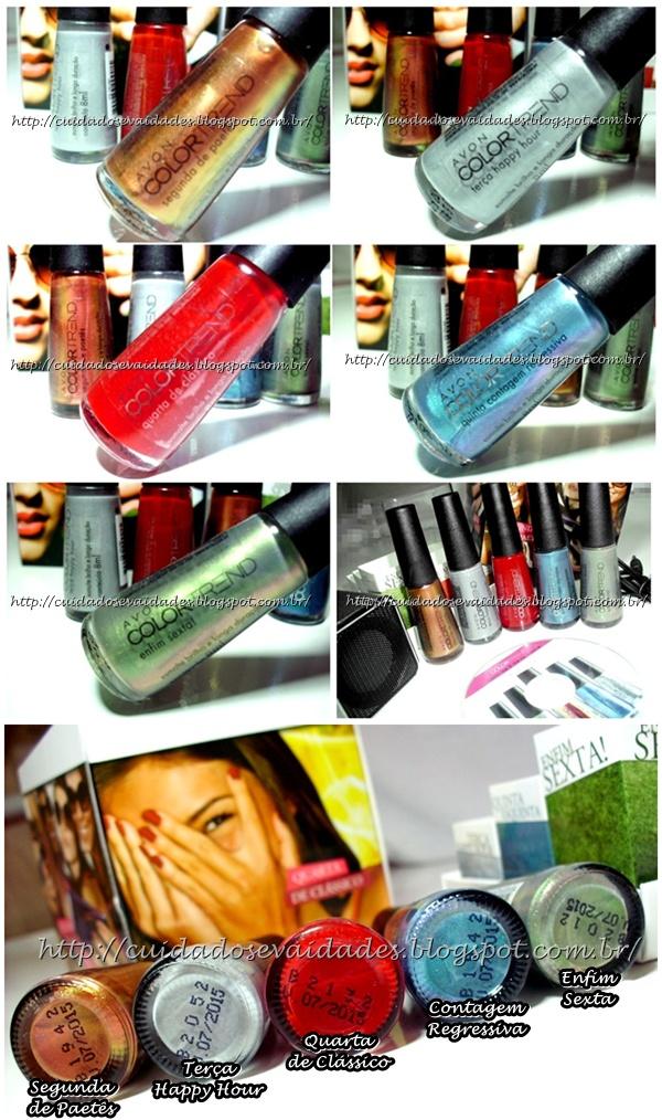 Avon Color Trend Todo dia é dia de festa