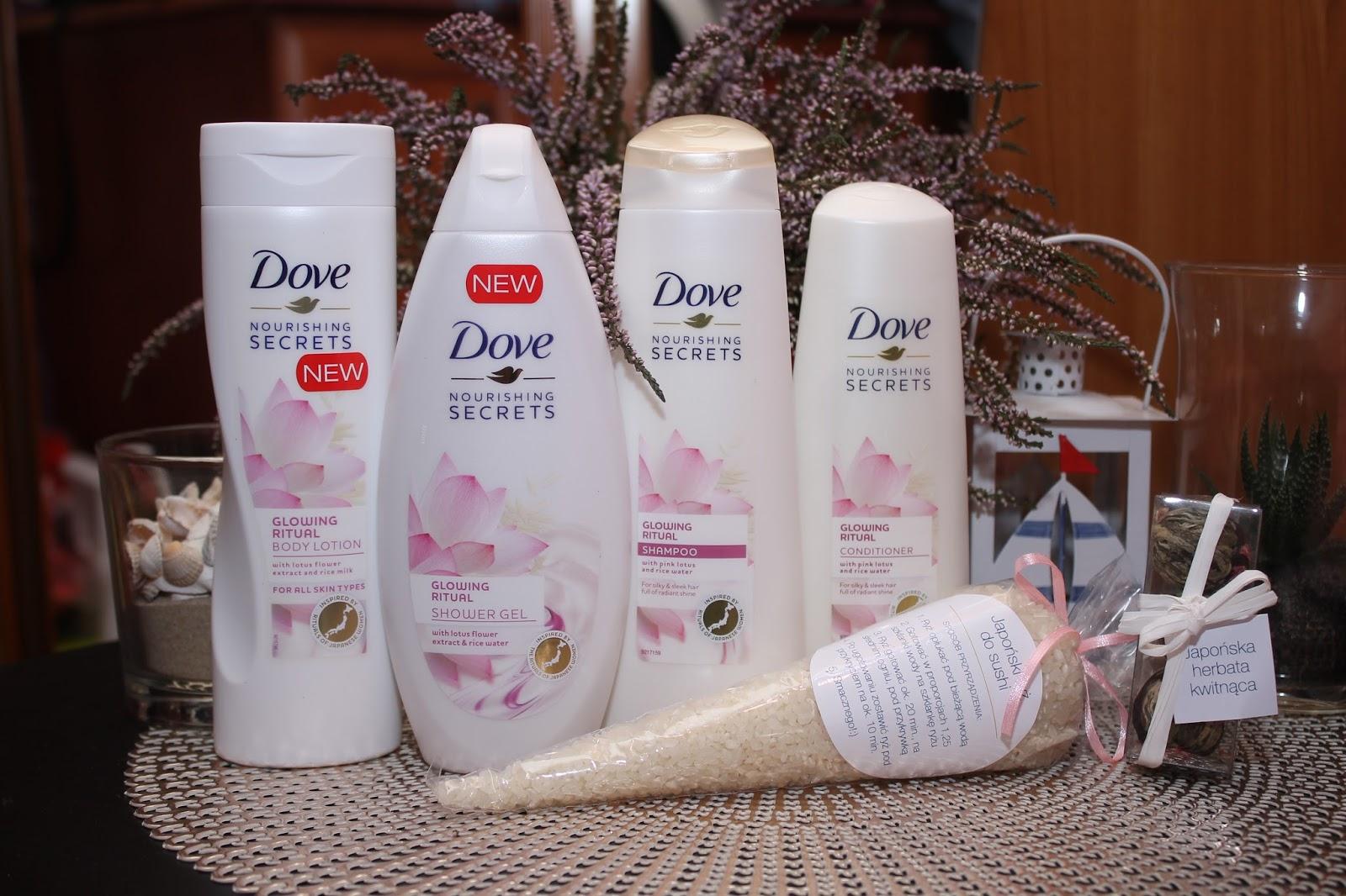 Japoński rytuał piękna - Dove Nourishing Secrets Glowing Ritual