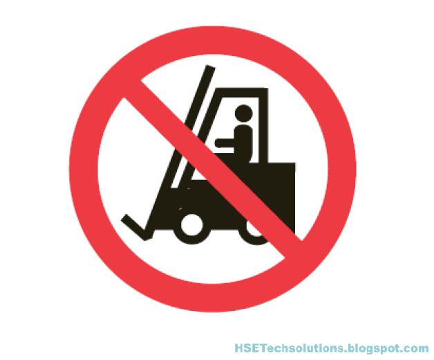 Hse Tech Solutions Forklift Not Allowed