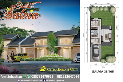 model-denah-rumah-salvia-36-105-Citra-Indah-City