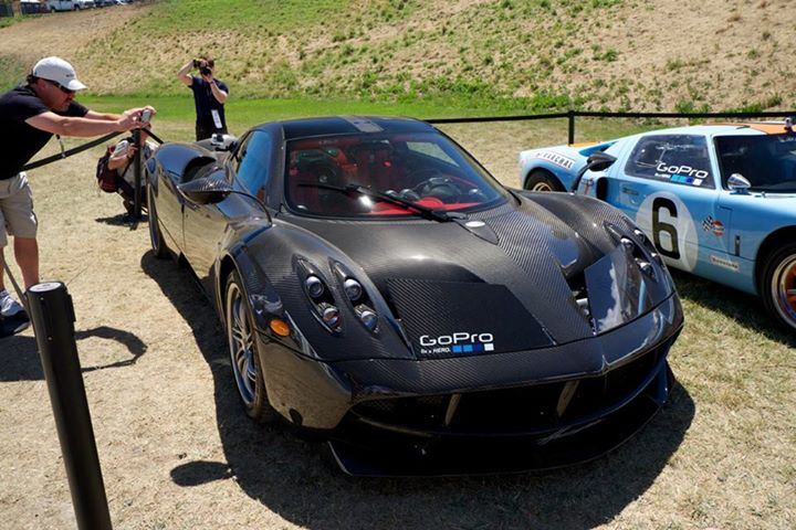 prototype 0 the pagani huayra has participated at gopro gran prix of sonoma. Black Bedroom Furniture Sets. Home Design Ideas