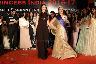 John Aham, Bhagyashree, Subhash Ghai and Amyra Dastur Attends Princess India 2016 17 Part2 002.JPG