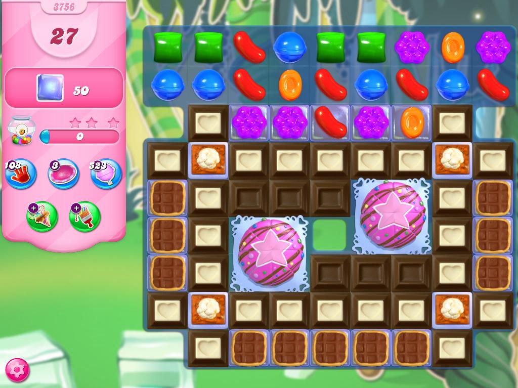 Candy Crush Saga level 3756
