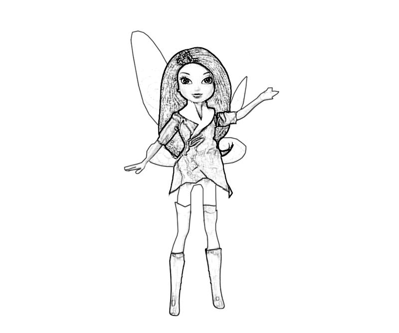 fly angel coloring pages | Silvermist Fly | Star Sasa