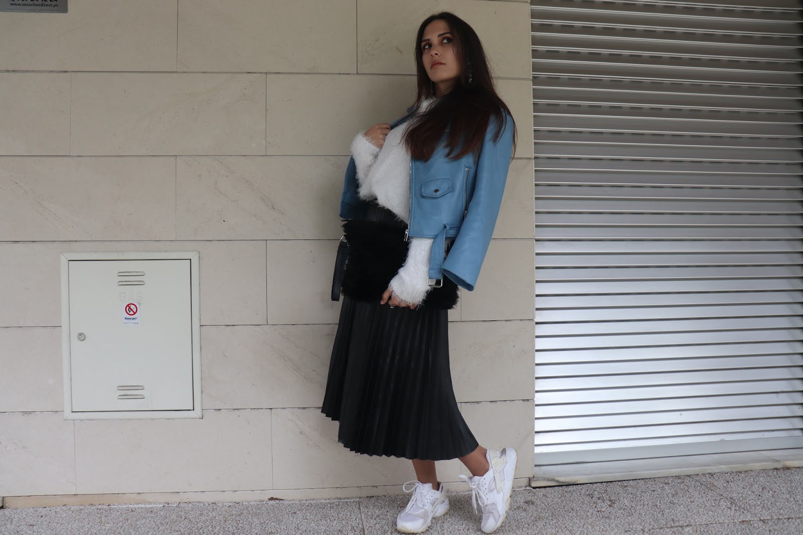 How to rock a pleated skirt