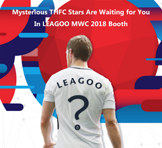 harry kane leagoo MWC2018