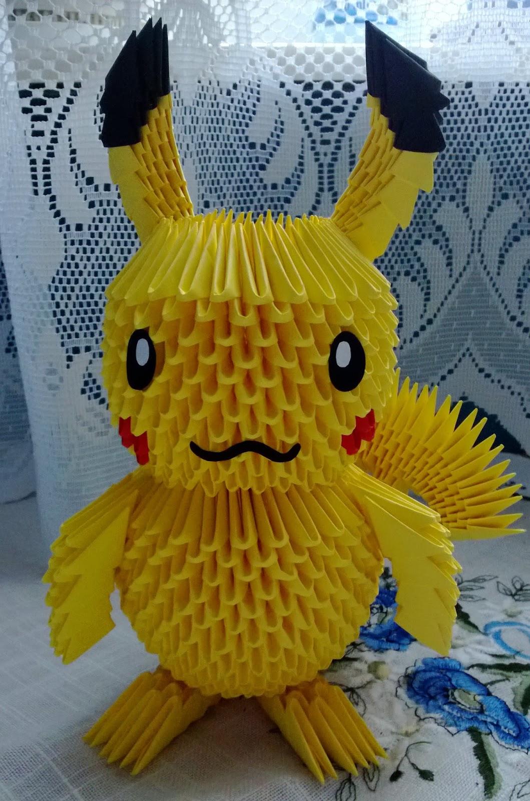 origami pokemon diagram headphone jack pinout female moja pasja, moje życie....: pikachu