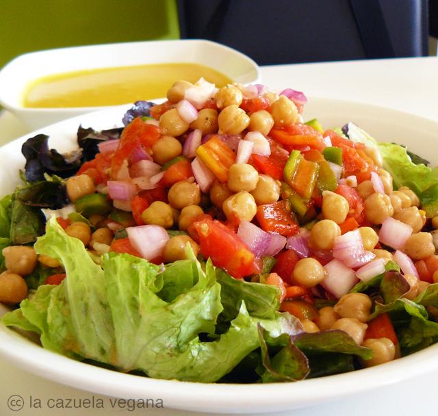 salpicón de legumbres