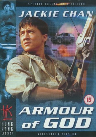 Poster of Armour of God 1986 720p Hindi BRRip Dual Audio Full Movie Download