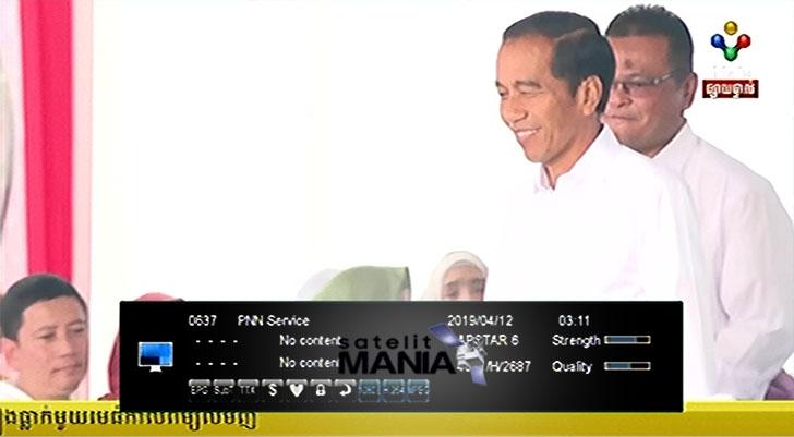 Frekuensi PNN TV Cambodia
