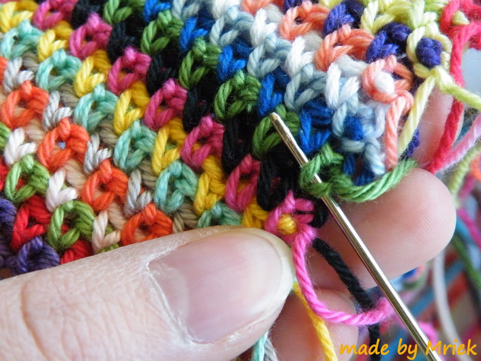 Moss Stitch Tutorial