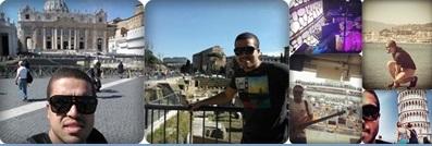 Vaticano, Coliseu, On Board, Palma de Mallorca, Pisa - Itália
