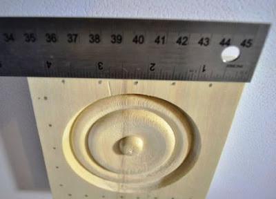 papan kayu tebal untuk pen holder