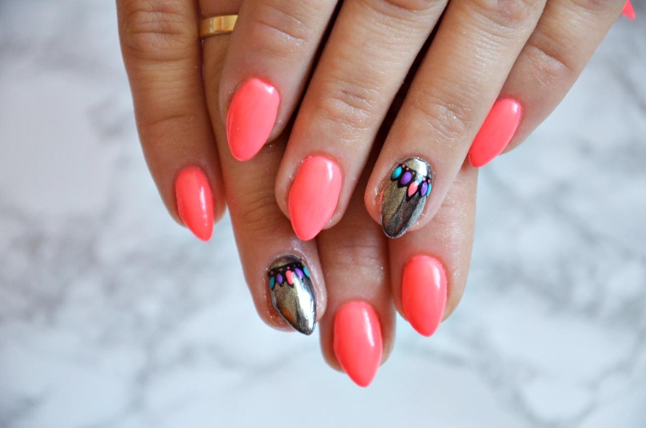 Beauty Dorczi Nails Company Neonowy Lakier Hybrydowy Obsession