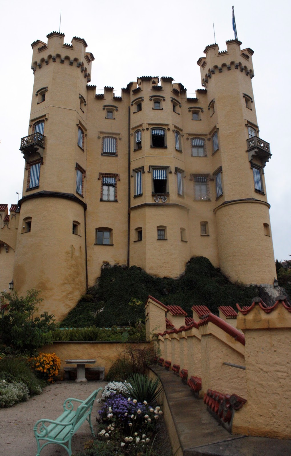 Visiting Hohenschwangau Castle - The Tipsy Terrier blog