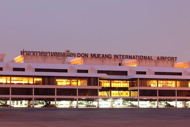 Kinh nghiệm đi từ sân bay Don Muang vào trung tâm Bangkok tại Thái Lan