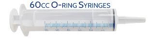 Silicone O-ring Feeding Syringe