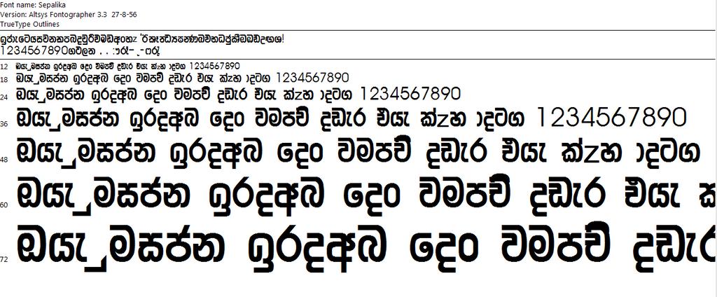 Iskoola Pota Sinhala Unicode - xilusdas