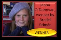 Jenna O'Donovan is die wenner by Bredel Primêr met haar redenaarstoespraak onder die ATKV se 2013 tema DAKKE!