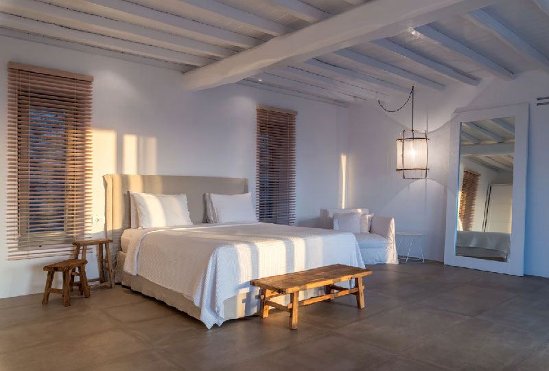camera da letto stile mediterraneo