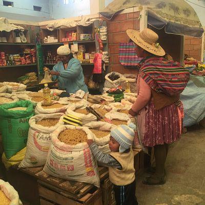 Mercado de Uyuni. Bolivia
