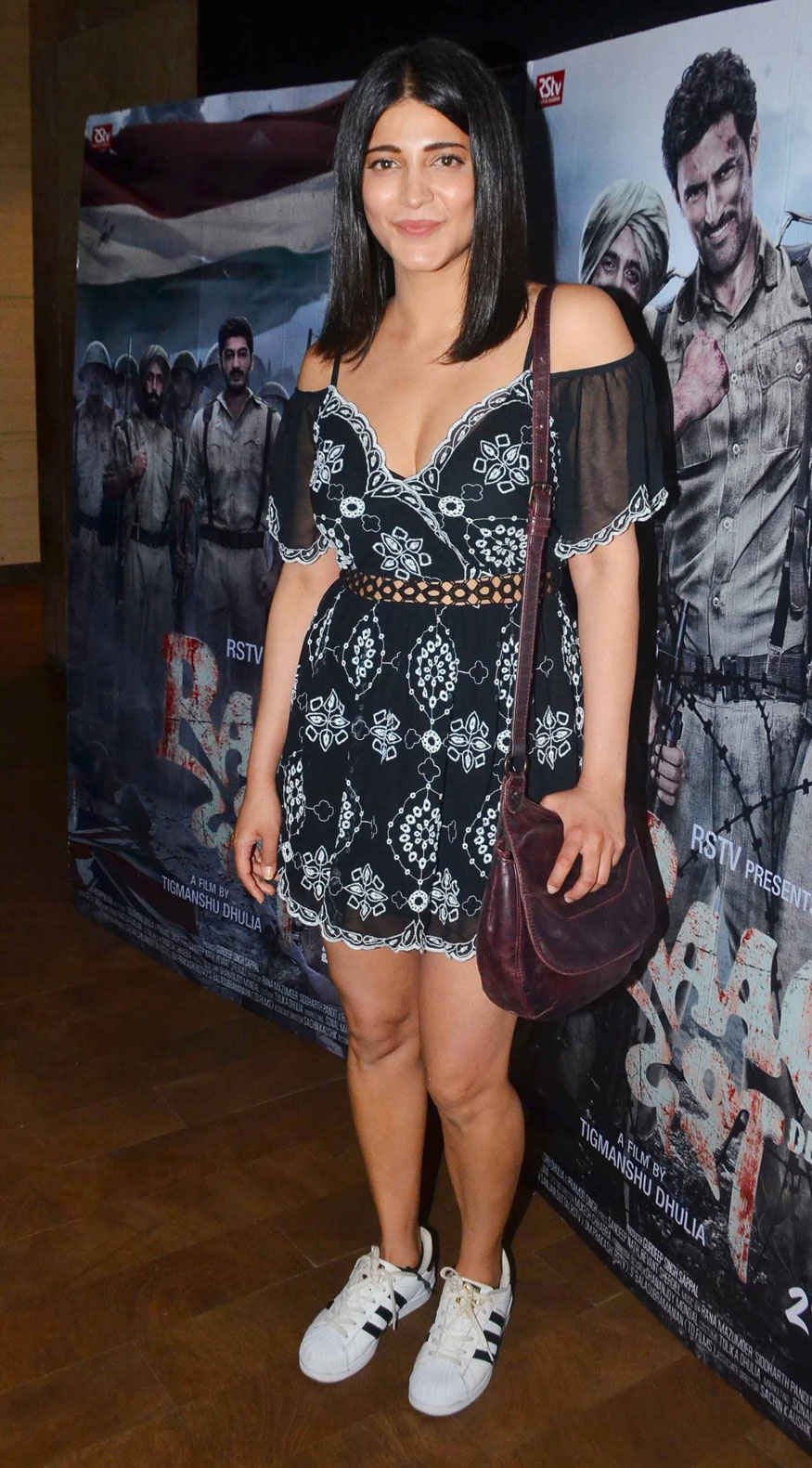 Shruti Haasan at The Premier of 'Raag Desh' at Lightbox In Mumbai