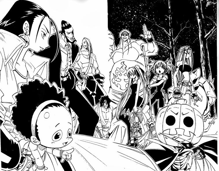 Shaman King [Vua pháp thuật] chap 157 trang 3
