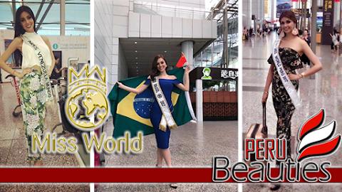 Miss World 2017 | Contestants arrive!!