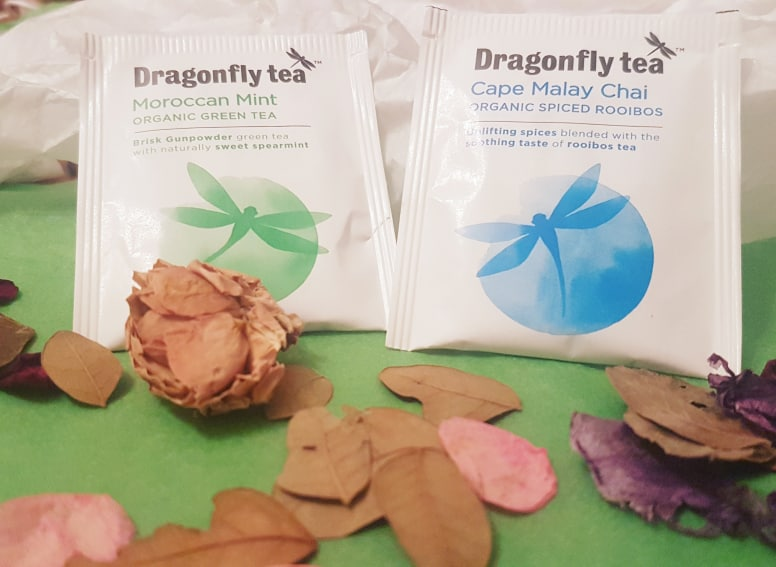 Dragonfly Tea Moroccan Mint + Cape Malay Chai teas