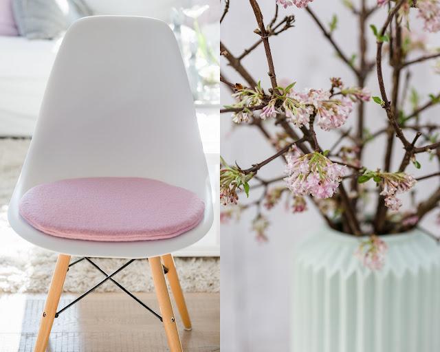 Cushion for Eameschair, Sitzkissen für Eameschair, Pomponetti, Etsy