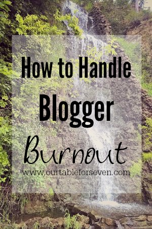 How to Handle Blogger Burnout