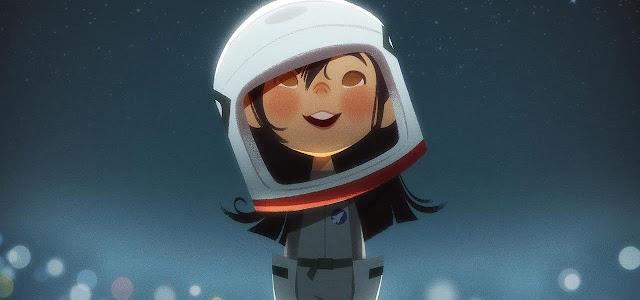 أستديو تايكو يشاركنا تحفته الجميلة الصغيرة One Small Step والذي يحكي عن فتاة صينية أمريكية إسمها لونا تحلم بأن تكون رائدة فضاء. أستديو TAIKO Studios