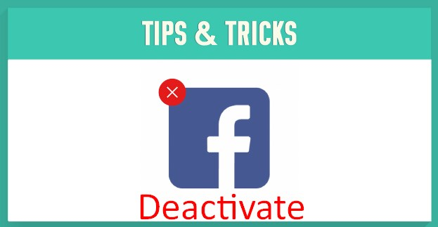 Is there a way to temporarily deactivate your facebook account