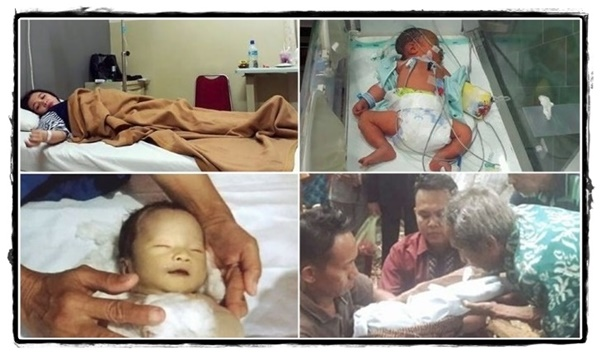 Perjuangan Orang Tua Selamatkan Bayinya Menguras Air Mata, Buah Hati Pergi Dengan Wajah Tersenyum