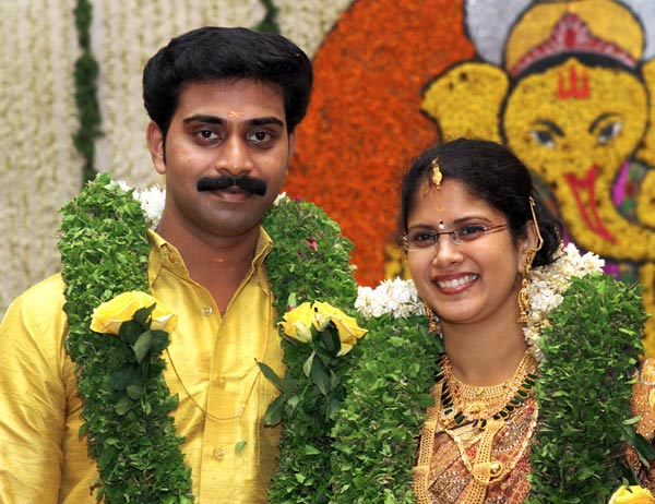 Malayalam Film Actor Indrans Daughter Marriage Photos Sw4live