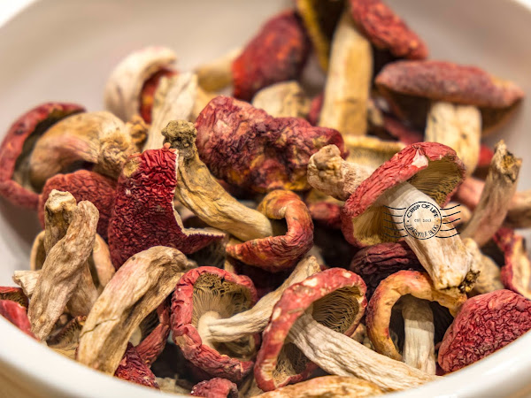Red Mushroom the Seasonal Dishes at Putien Malaysia