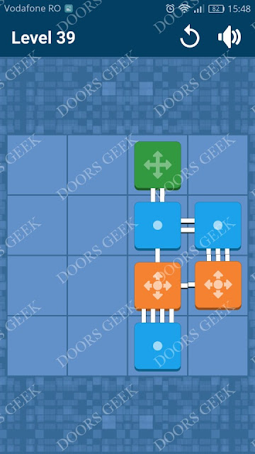 Connect Me - Logic Puzzle Level 39 Solution, Cheats, Walkthrough for android, iphone, ipad and ipod