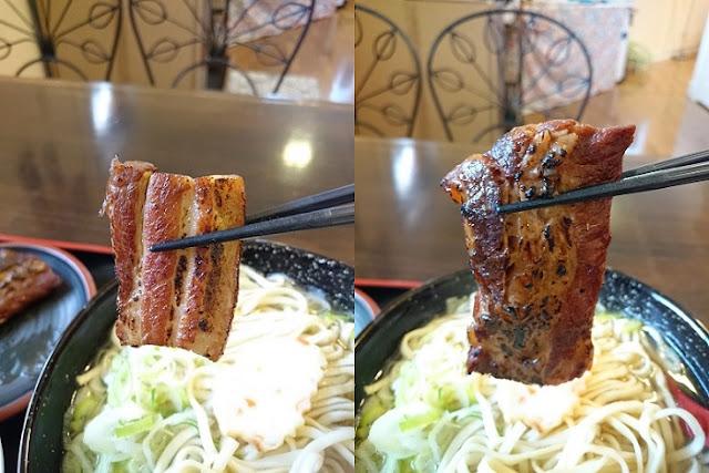 炙り三枚肉と軟骨ソーキの写真